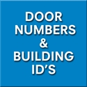 Picture for category DOOR NUMBERS & BUILDING ID'S